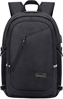 Travel Laptop Backpack£¬Anti Theft Water Resistant Laptop Backpack with USB Charging Port Fits 15.6 inch Laptop & Notebook