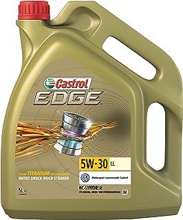 Castrol 57420 EDGE Titanium Aceite para Motor FST 5W-30 LL, 5L (Sello alemán)