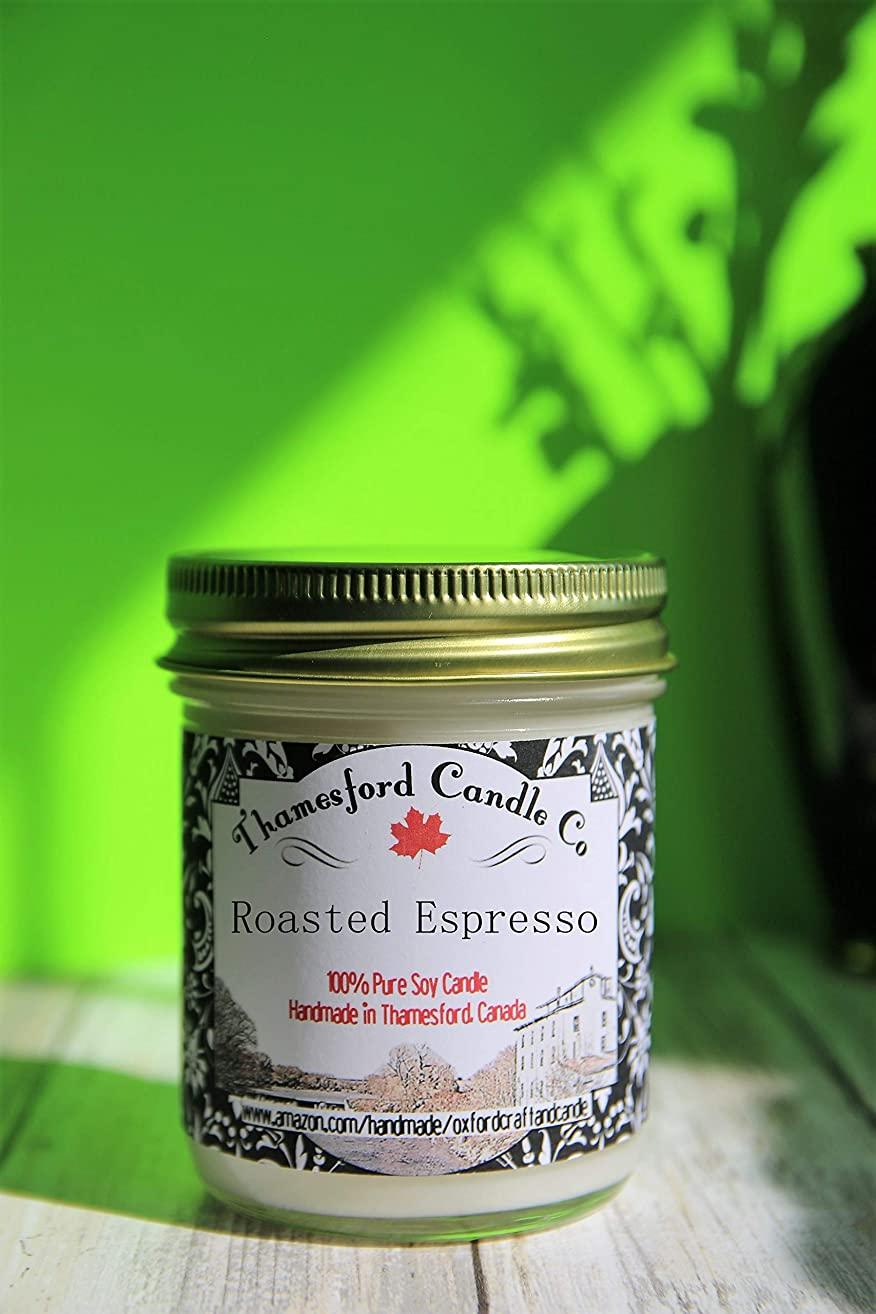 Coffee Scented Candle. Midwest America Soy. Hand Poured. Choose From: Café Mocha, Cappuccino, Coffee Caramel, Fresh Brewed Coffee, Hazelnut Latte, or Roasted Espresso. Your choice of Jar Lid Color.