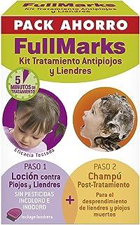 FullMarks Kit Tratamiento Antipiojos para Niños, Elimina