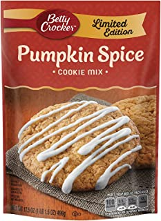 Betty Crocker Baking Cookie Mix Pouch, Pumpkin Spice, 17.5 Ounce