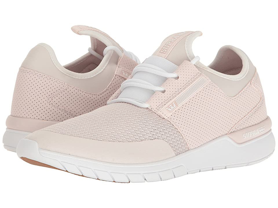 Supra Flow Run (Light Pink/Light Pink/White) Men
