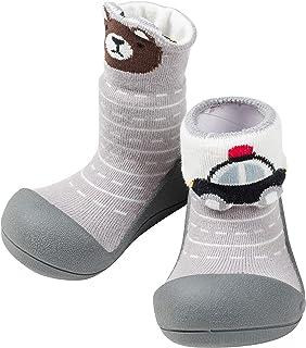 [Attipas] アティパス ベビーシューズ Two Style (ツースタイル) 男の子/洗濯機OK・速乾 軽量 裸足に近い ファーストシューズ プレシューズ/水遊びOK 公園 お出かけ 出産祝い 生後5か月から 足の保護