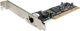 StarTech.com 1 Port PCI Network Card - 10/100Mbps RJ45 Port - Auto Negotiation - Ethernet Card (ST100S)