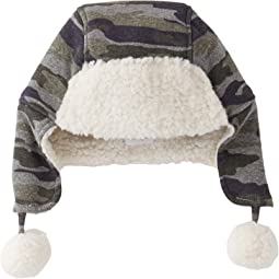 Mud Pie - Camo Sherpa Hat (Infant/Toddler)