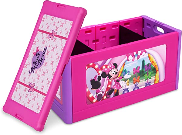 Delta Children Store And Organize Toy Box Minnie Mouse