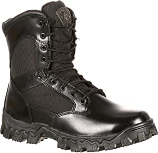 ROCKY Women's AlphaForce Waterproof Duty Boot Round Toe