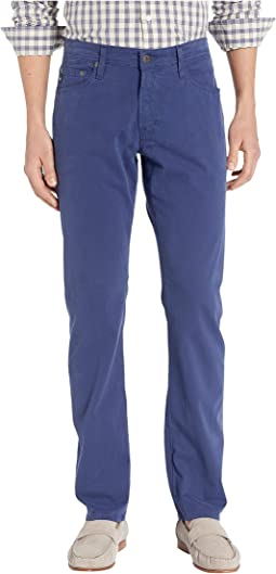 The Graduate Tailored Straight SUD Sueded Stretch Sateen in Broken Tide