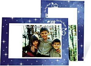 product image for Oh Holy Night - 4x6 Photo Insert Note Cards - 24 Pack by Plymouth Cards