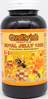 Sponsored Ad - Qualitylab Royal Jelly 1000 mg 250 Capsules (Made in Canada)