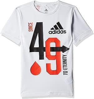 Adidas Boy's YB TR A TEE Graphic Tee (Short Sleeve)
