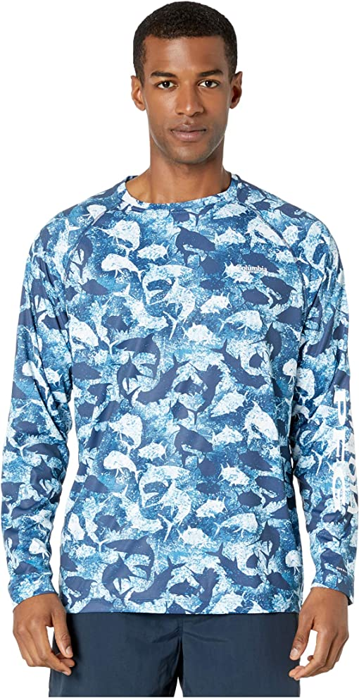 Collegiate Navy Inside Out Camo