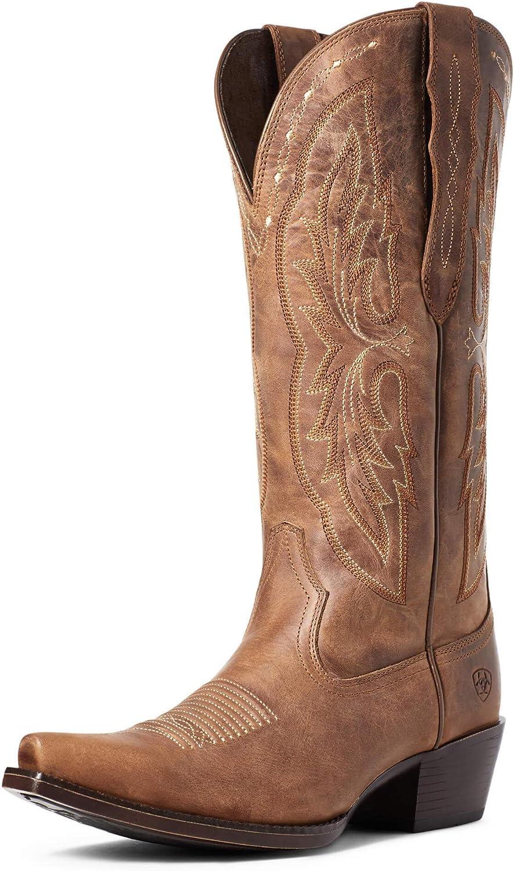 ARIAT Heritage X Toe Selling Cheap Boot Calf Western Elastic