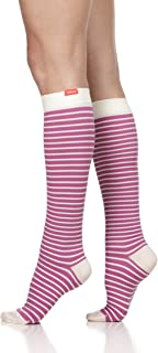 VIM & VIGR Women's 15-20 mmHg Graduated Compression Socks - Nylon Collection