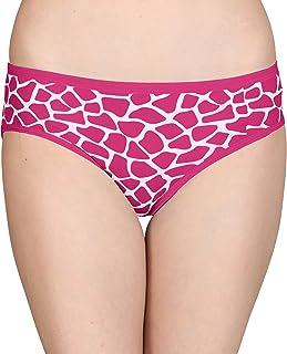 Lola Dola Women Ladies Girls Modal Hipster Panty Set of 1 (Multi-Colourd, Free)