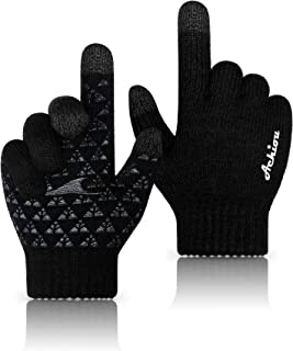 Best Winter Knit Gloves Thicken Warm Touchscreen Thermal Soft Lining Texting Generation Ⅱ Upgraded Review