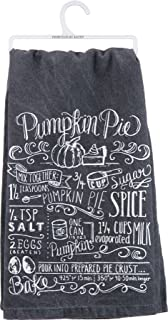 Pumpkin Pie Recipe Dish Towel