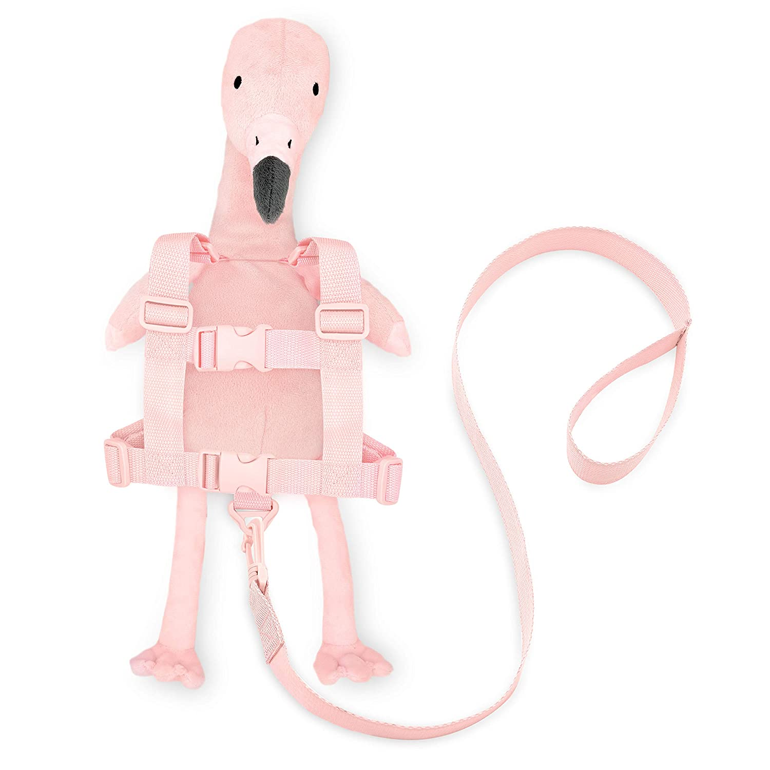 Travel Bug Toddler Character 2-in-1 Safety Harness - Flamingo
