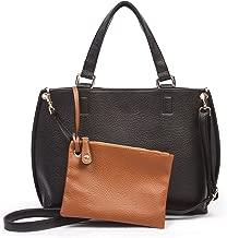Overbrooke Reversible Crossbody Bag - Vegan Leather Womens Handbag with Coin Purse