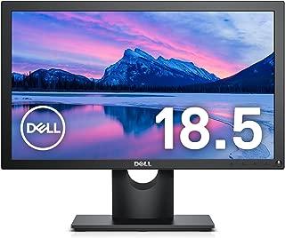 Dell モニター 18.5インチ E1916H(3年間交換保証/CIE1976 82%/HD/TN非光沢/フリッカーフリー/DP,D-Sub15ピン)