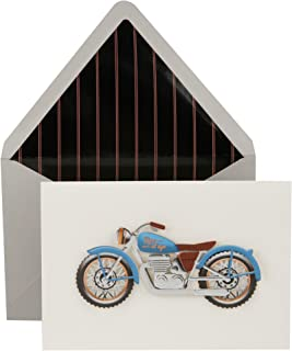 Hallmark Signature Father's Day Card (Rev It Up Motorcycle)