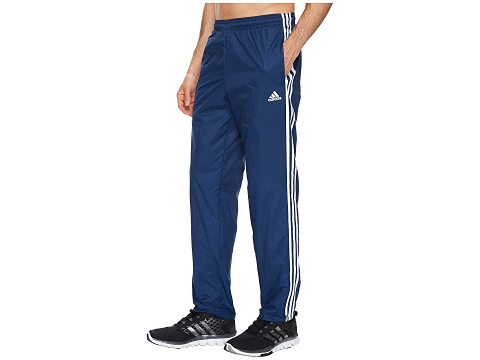 adidas Essentials 3S Wind Pants (Collegiate Navy/Collegiate Navy/White) Men