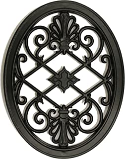 Nuvo Iron Oval Decorative Insert For Fencing, Gates, Home, Garden, ACW56