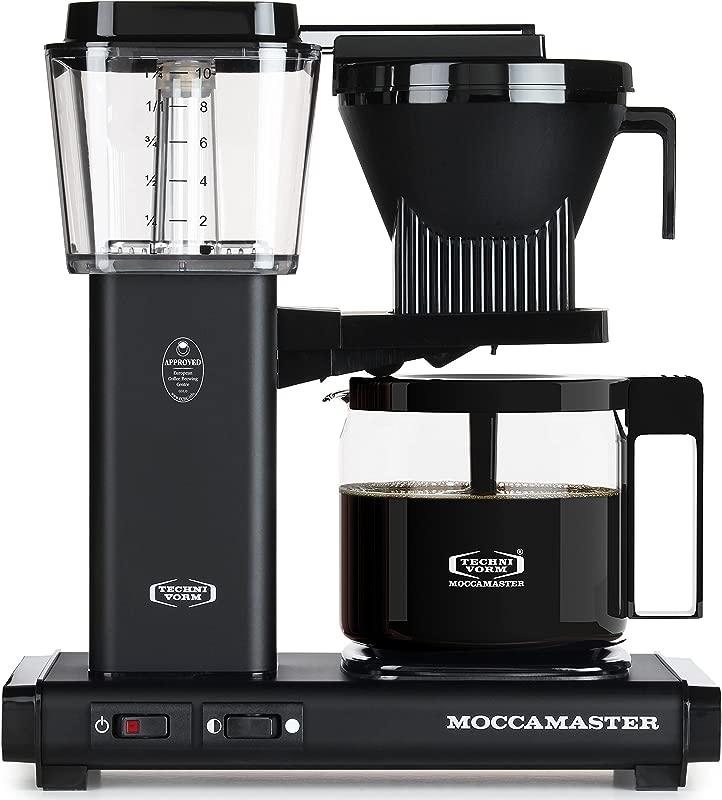 Technivorm Moccamaster 59656 KBG Coffee Brewer 40 Oz Matte Black