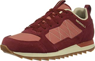Merrell Womens Alpine Sneaker Trainers Sneakers in Red