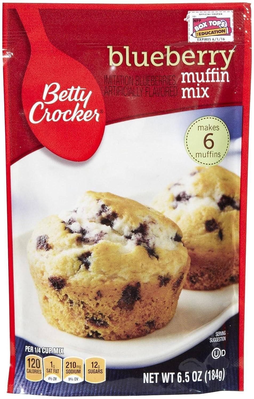 Betty Rare Crocker Blue Muffin Mix oz Popular product - Pouch 6.5
