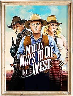 FANART369 Een miljoen manieren om te sterven in het Westen poster A3 formaat fanart Movie poster muur kunst print decor 2...