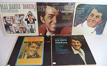 Dean Martin Lot of 5 Vinyl Record Albums Houston and more