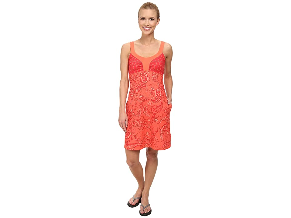 The North Face Cadence Dress (Emberglow Orange Print (Prior Season)) Women