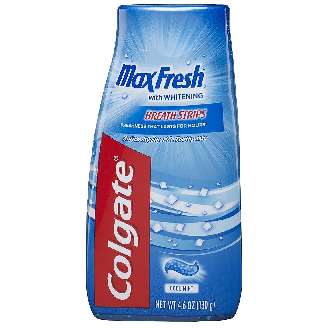 憂鬱がっかりした分解するColgate マックス新鮮な液体ゲル2-IN-1歯磨き粉およびマウスウォッシュ - 4.6オンス(12パック)