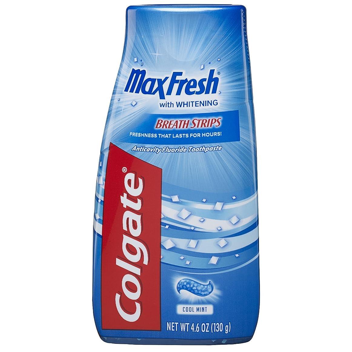 写真のアラバマ混乱Colgate マックス新鮮な液体ゲル2-IN-1歯磨き粉およびマウスウォッシュ - 4.6オンス(12パック)