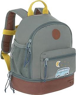 Mini Mochila para niños 27 cm, 4,5 litros arriba, 1,5 litros abajo, 3 años/Mini Backpack Adventure Bus