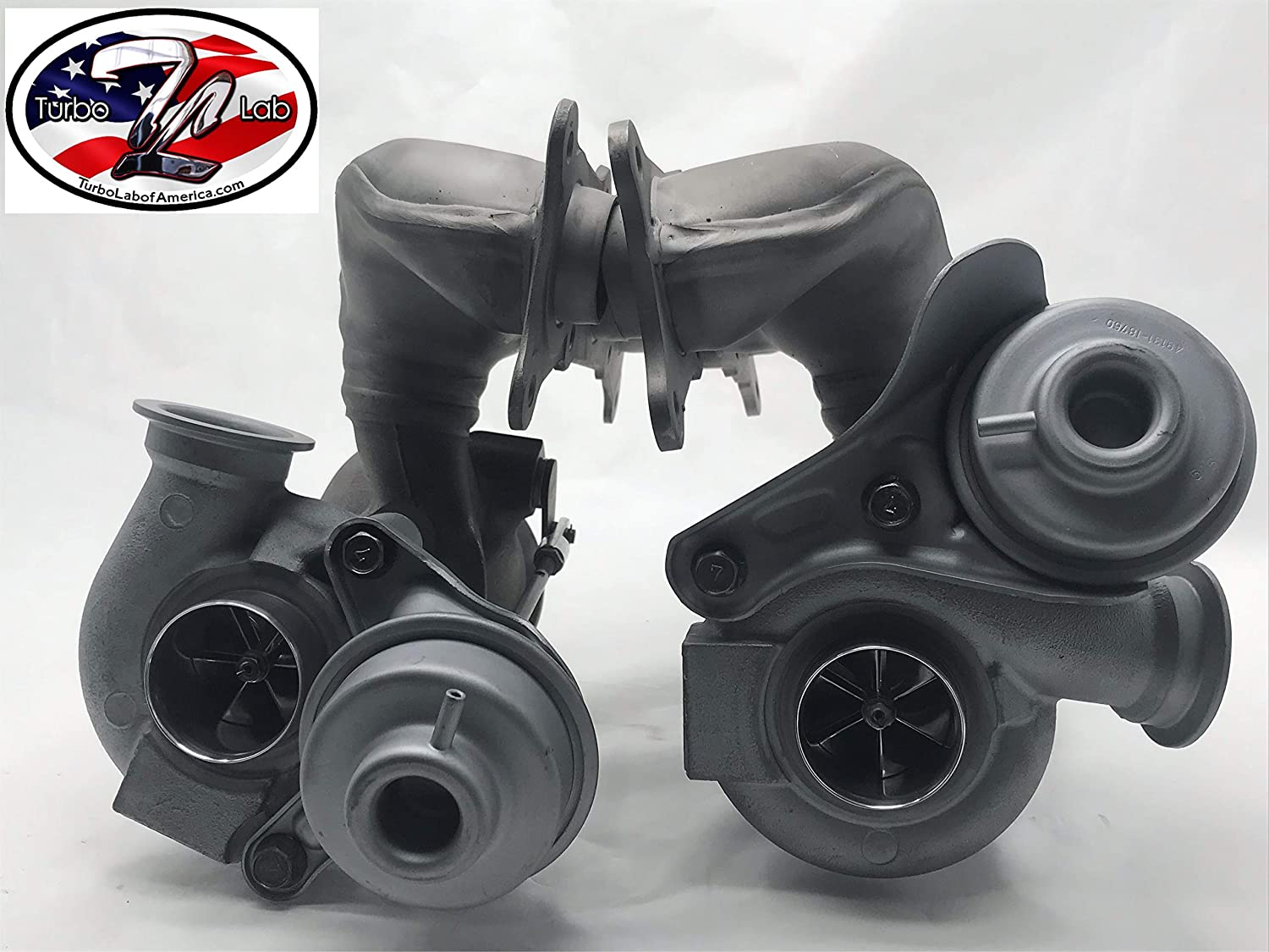 25% OFF Turbo Lab America Upgraded Twin Turbos n54 39.6mm Super beauty product restock quality top 335i