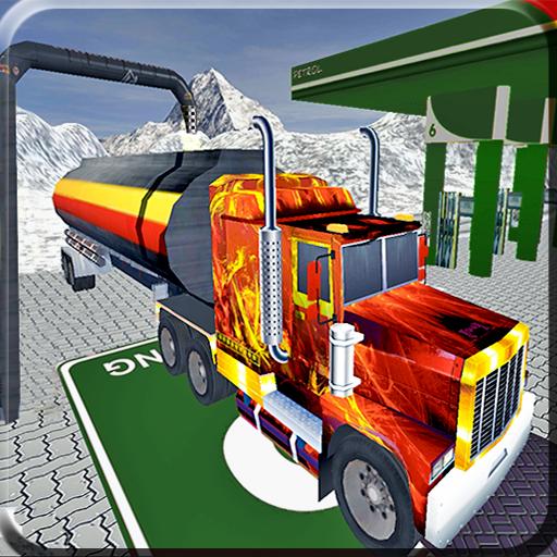 Drive Snow Mountain Oil Truck