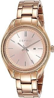 (Renewed) Esprit Analog Rose Gold Dial Womens Watch - ES107832003#CR