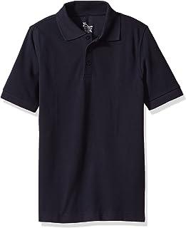 Classroom Big Kids Boys' Unisex Short Sleeve Pique Polo