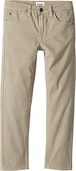 Hudson Kids Jagger Slim Straight Twill in Kelp (Toddler/Little Kids/Big Kids)