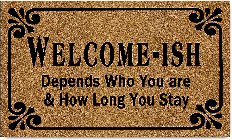 Funny Welcome Doormat(29.5