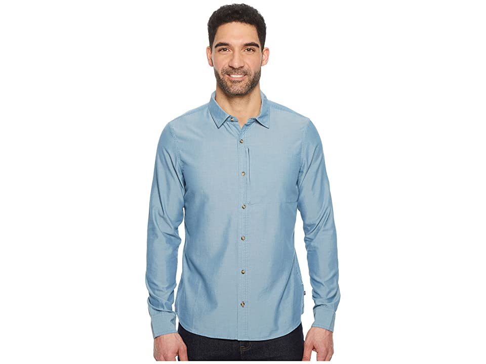 Toad&Co Cutler Long Sleeve Slim Shirt (Bright Indigo) Men