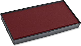 COSCO 2000 PLUS Replacement Ink Pad for Printer P20 and Dual Pad Printer P20, Red (COS065467)