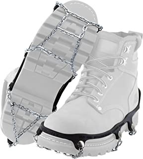 Traction Chains for Walking on Ice and Snow (1 Pair)