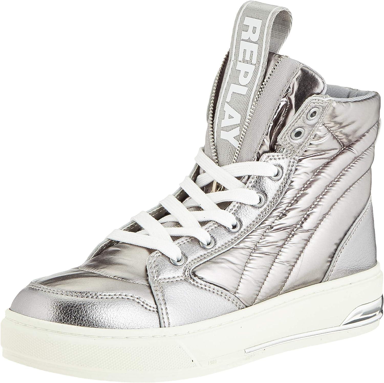 Replay Women's 着後レビューで 送料無料 Sneakers Low-top 誕生日 お祝い