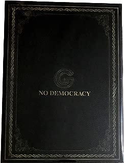 NO DEMOCRACY ( Special Edition)(CD+3Blu-ray(ライブ映像4種、ドキュメンタリー、MUSIC VIDEO収録)+グッズ[A4PHOTO BOOK(64P)・GLAYかるた・GLAY詩集100選 ])(〈型抜き〉DEMOCRACYステッカーシート付)