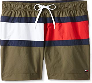 Tommy Hilfiger Men's Medium Drawstring Swim Short (pack of 1)