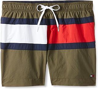 Tommy Hilfiger mens Medium Drawstring Swim Short (pack of 1)