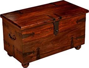 William Sheppee USA William Sheppee Thakat Blanket Box, Small, Dark Brown